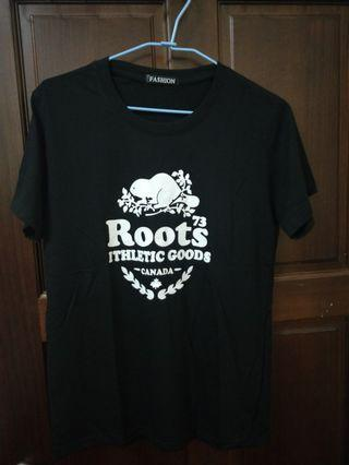 Roots女版短袖