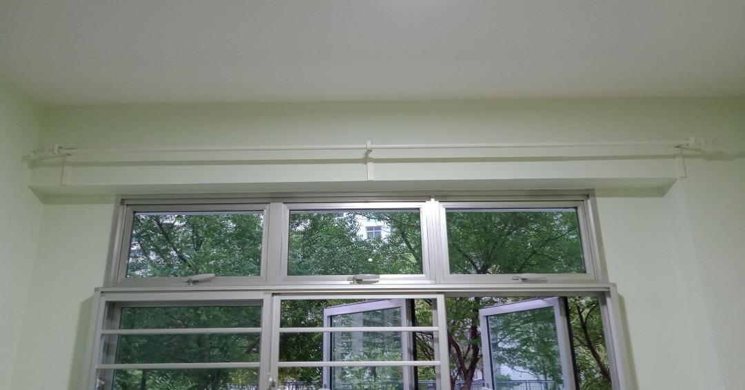 3 pieces curtain rodes