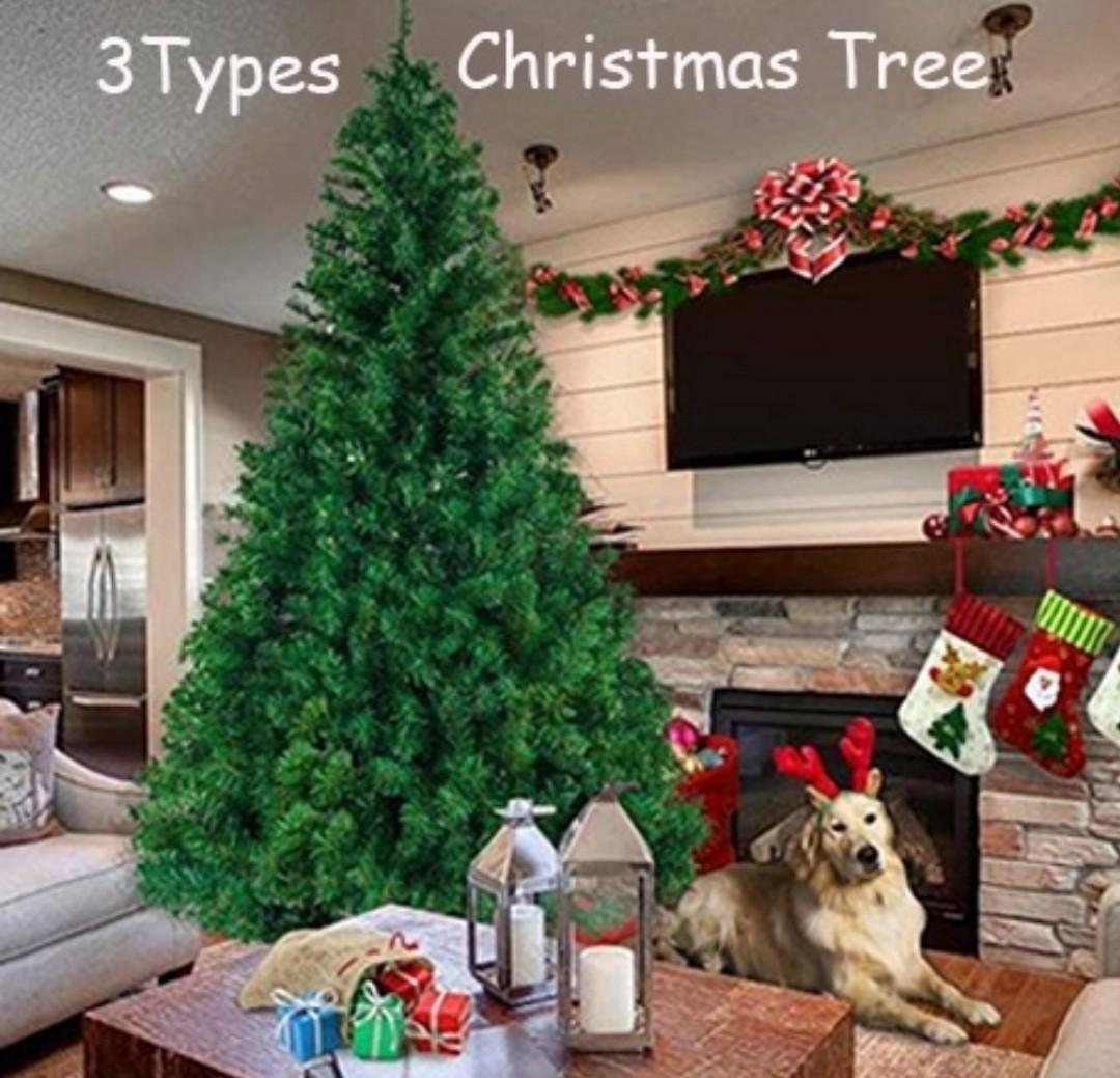 6 / 7 / 7.5 FT Christmas Tree. A Beautiful Home Decoration For A Special Time Of Year