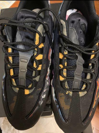 8成新 Nike Air Max 95 ERDL Party 迷彩 US11 eur45