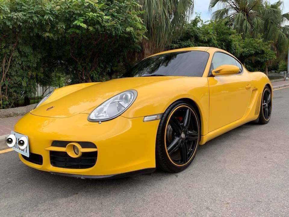 總代理 保時捷 車主自售 代朋友刊登 🇩🇪2006年出廠Porsche Cayman S 3.4 跑少里程6萬公里整 車況良好 無待修 實價88萬