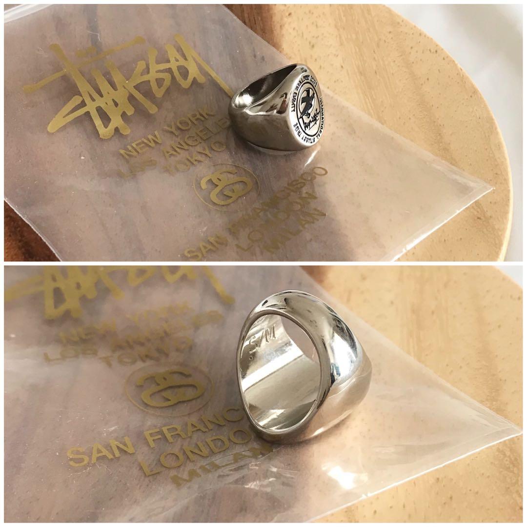 ✨ Super Rare Stussy surfman icon signet ring (unisex)✨