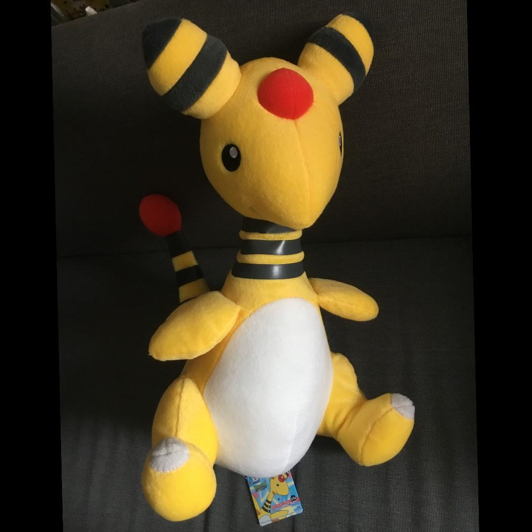 日本景品  寵物小精靈 電龍 pokemon 公仔 Ampharos - デンリュウDenryu