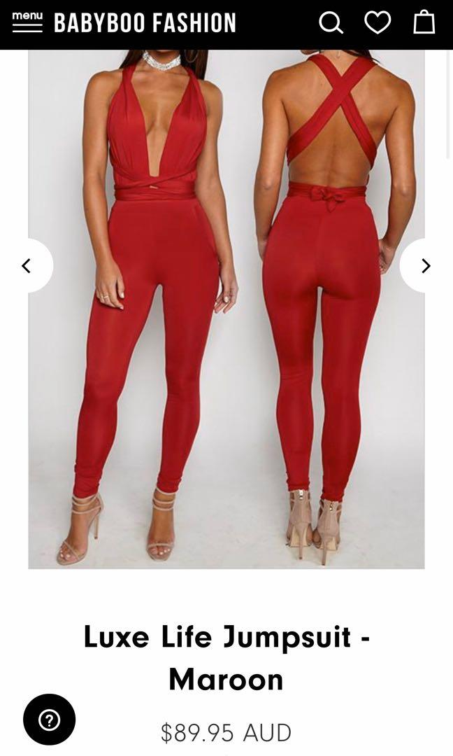Babyboo Red Jumpsuit BNWT