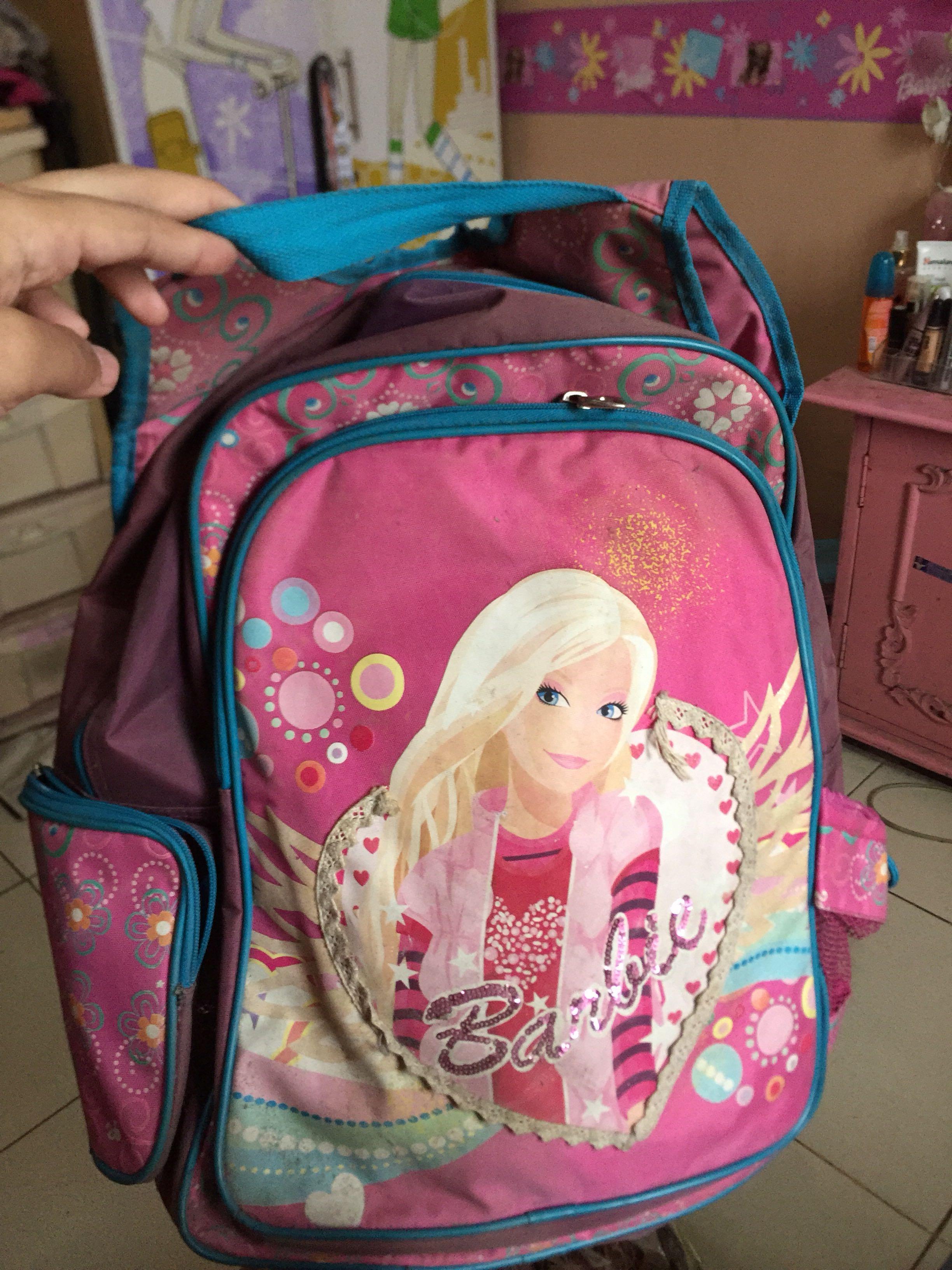 Barbie Original Tas Anak Besar