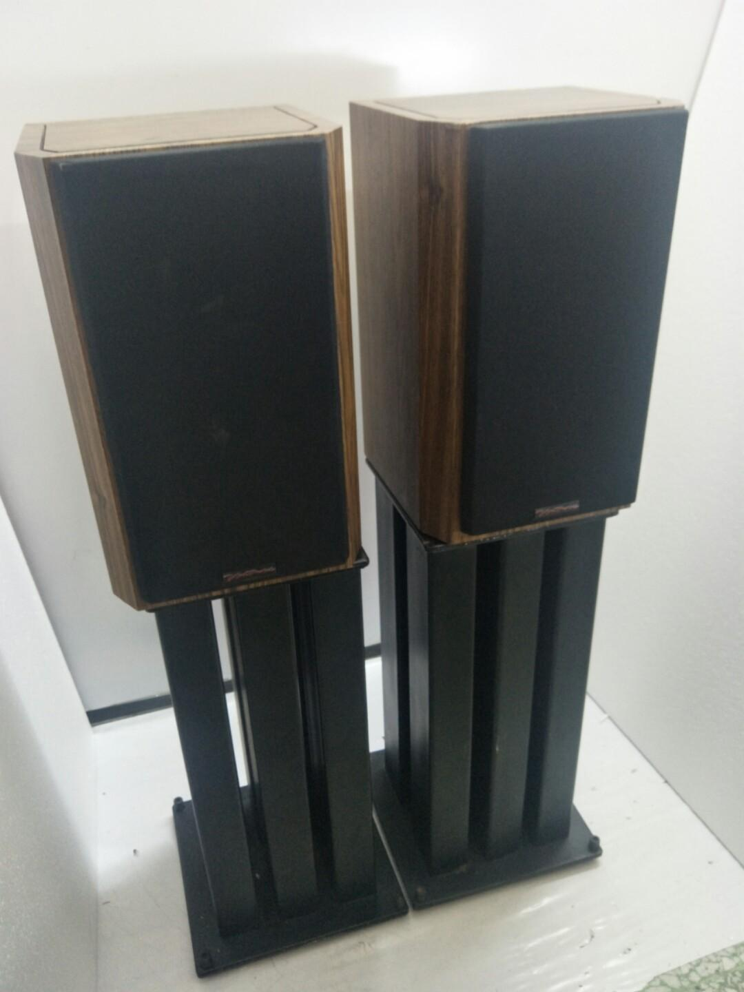 Bic Ventury V62   2ways Bass Reflex Bookshelf Speakers