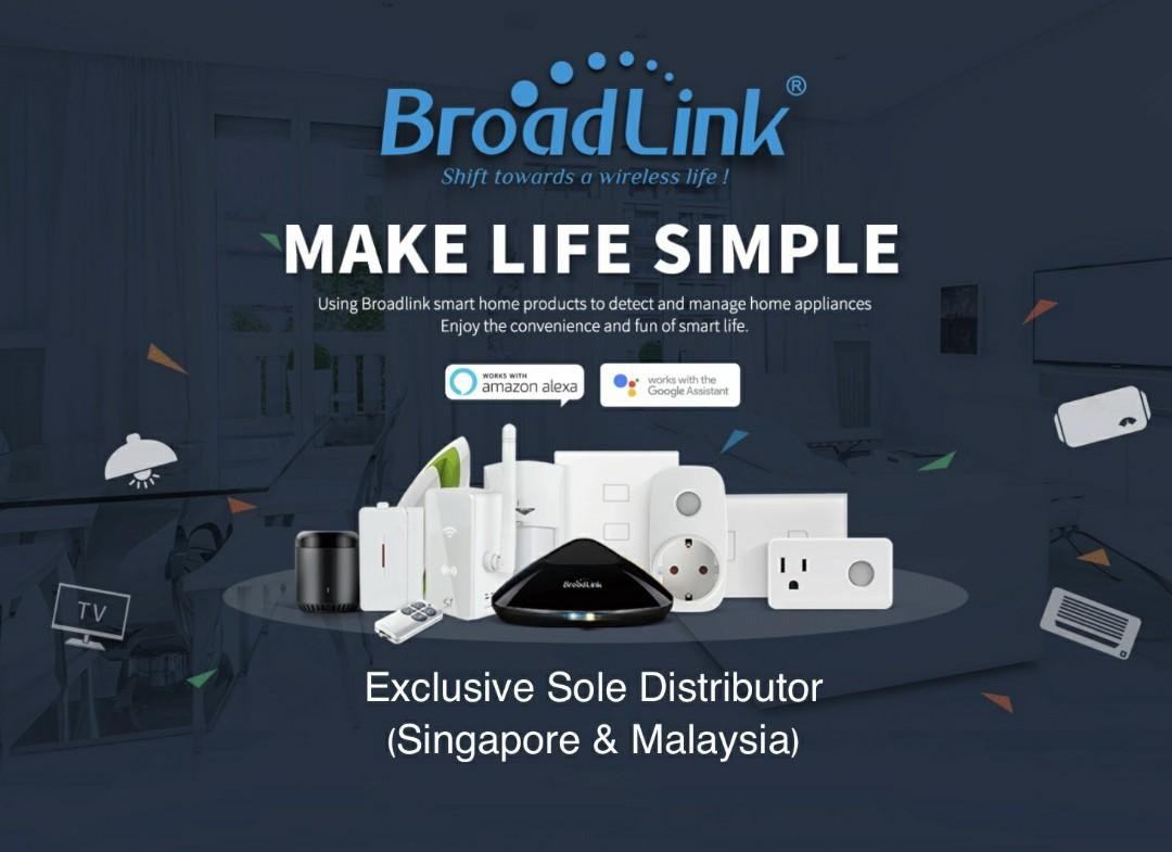 Broadlink Singapore - Smart Home Automation