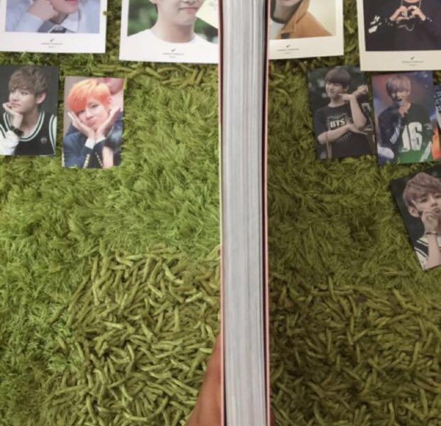 BTS V / Taehyung ( be ma babe fansite photobook set)