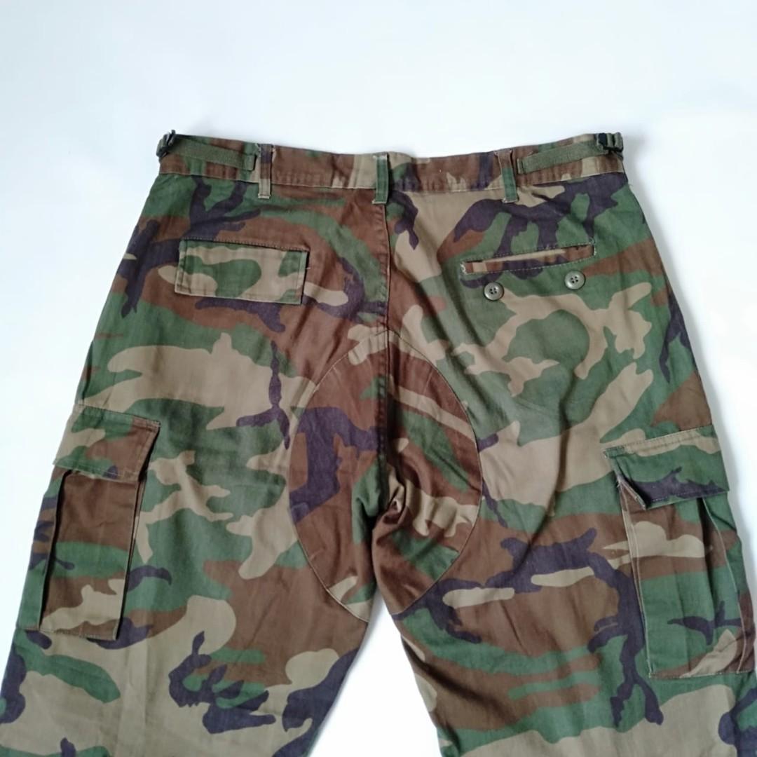 Celana joger Cargo Army regular