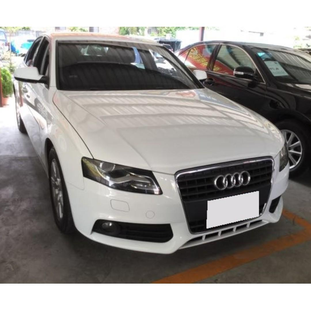 【高CP值優質車】2011年 AUDI A4 1.8T【經第三方認證】【車況立約保證】