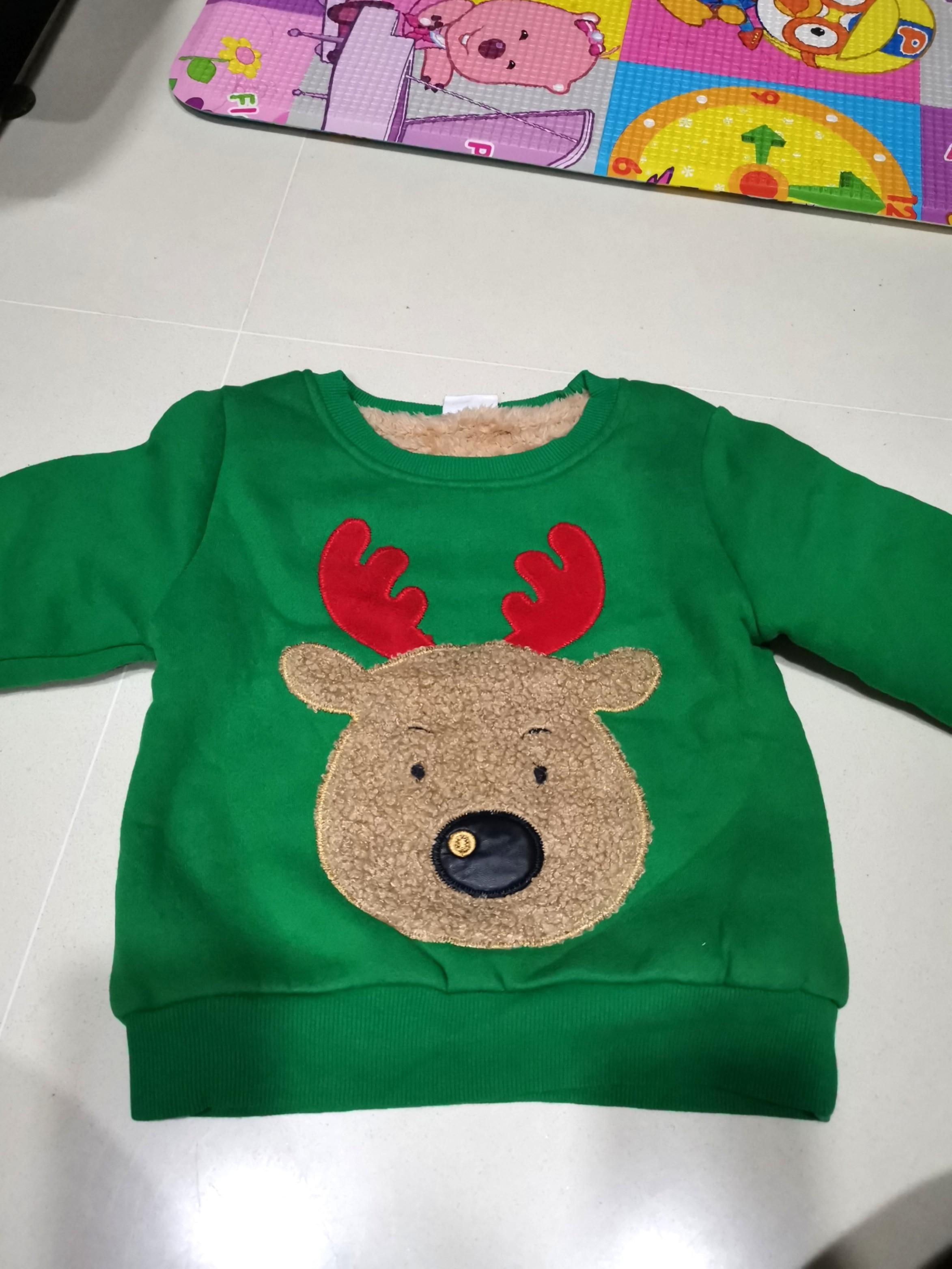 Cute Winter Christmas Pullover sweater for toddlers