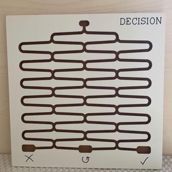 Decision Board White