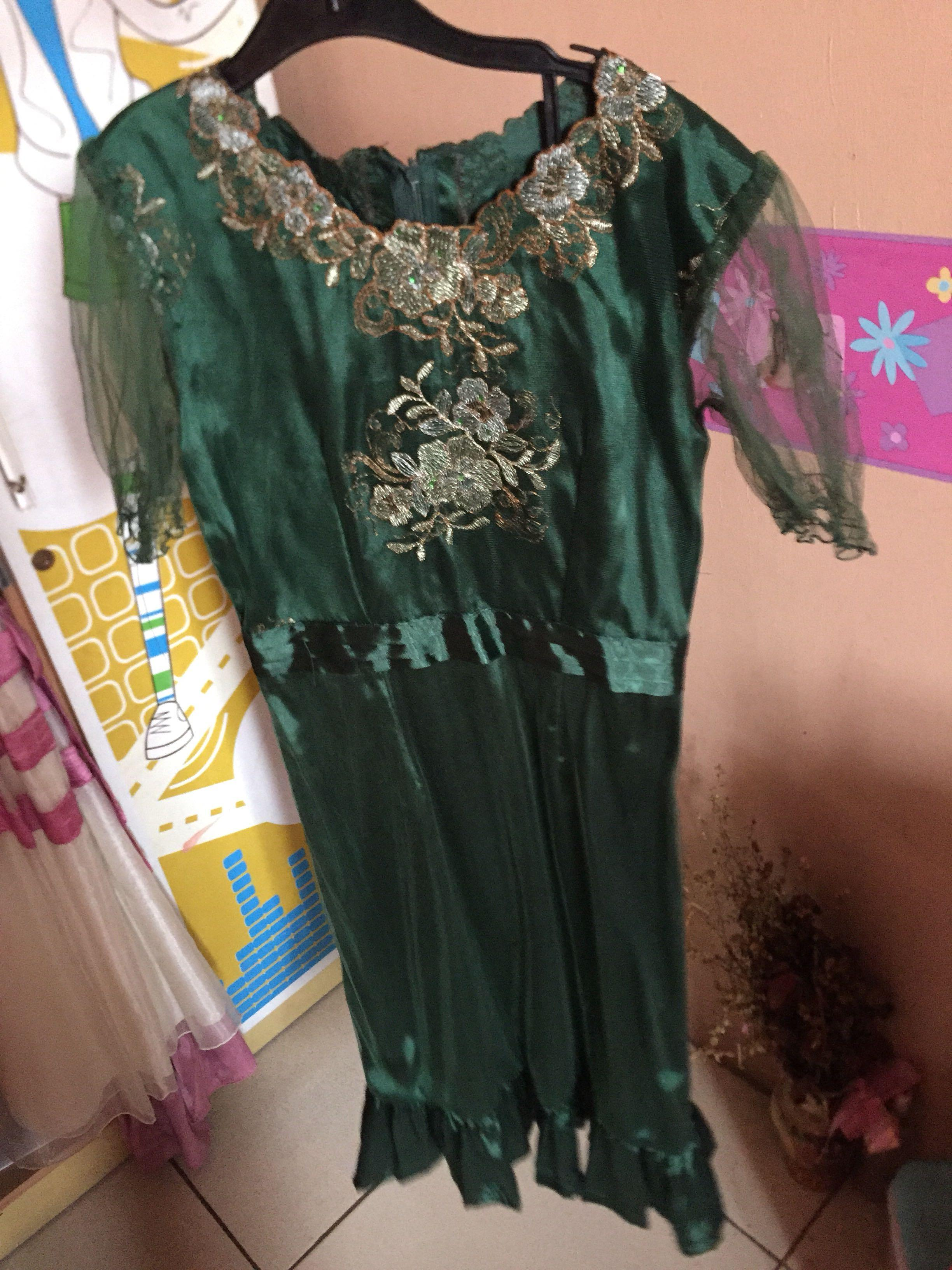 Green Mididress