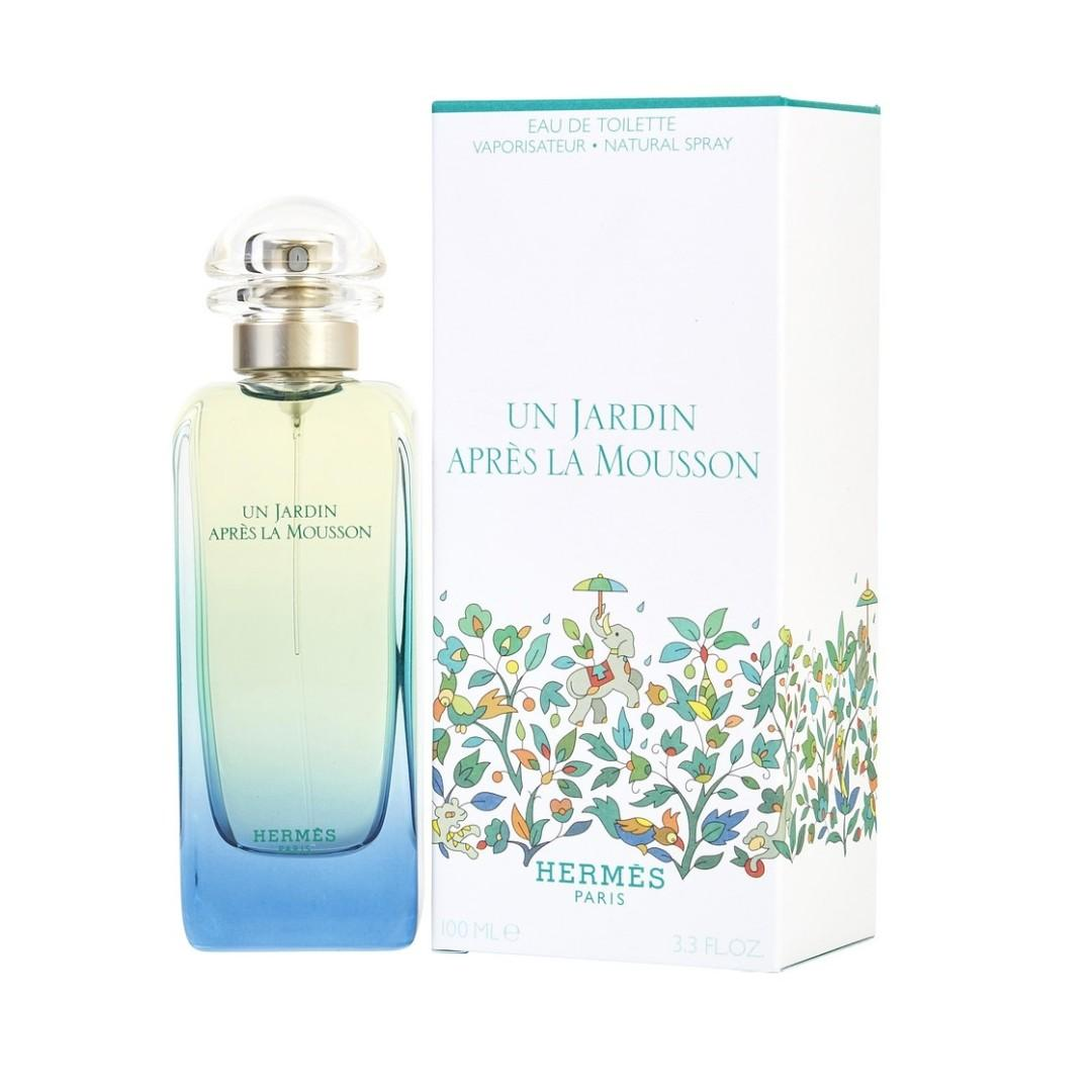Hermès Un Jardin Apres la Mousson EDT雨後花園中性淡香水 100ml (Barcode : 3346131900022)