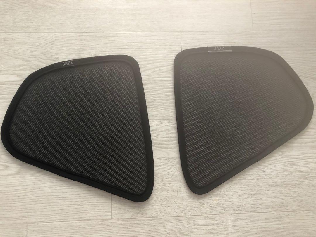 Bundle 3 item Honda Jazz Fit magnetic shades & spoiler & window visor