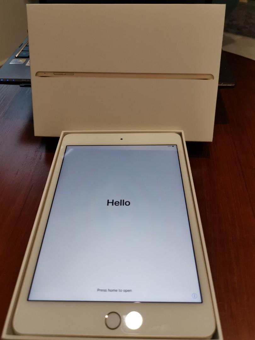 Ipad Mini 4 - 64gb Rose Gold Wifi