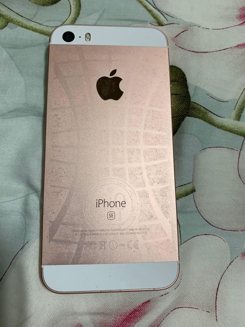 IPhone SE 64GB Rose (USED)