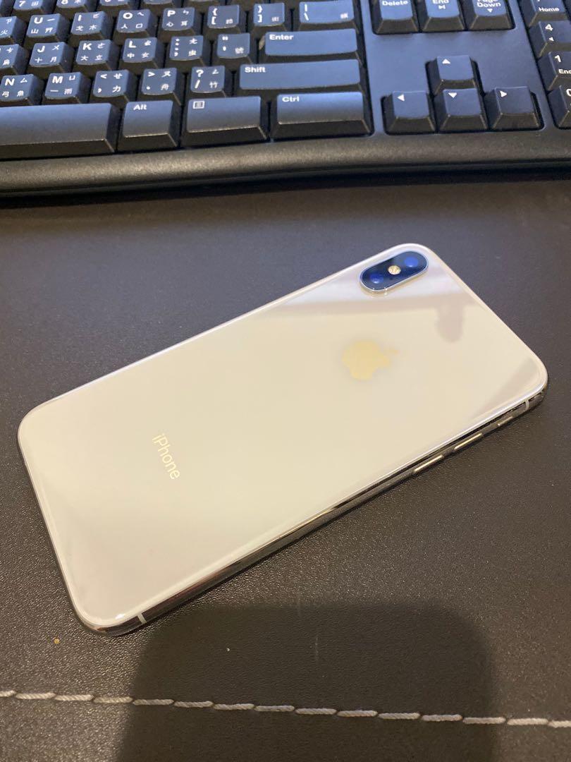 iPhone X 64g(白)