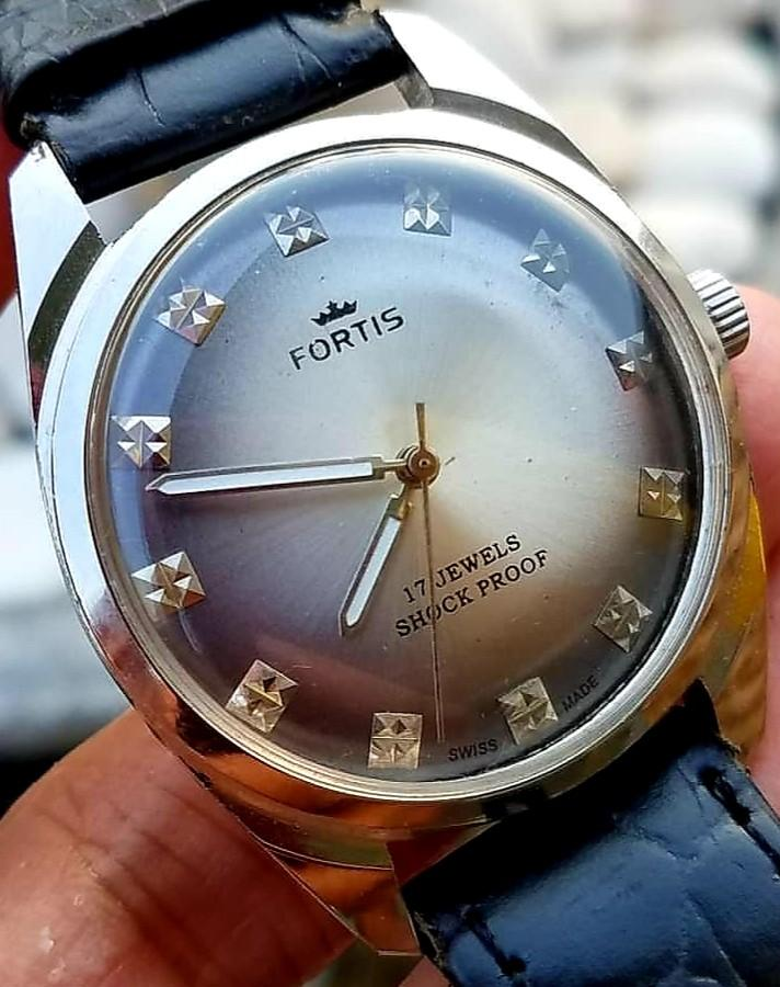 Jam tangan FORTIS shock proof Vintage ORI