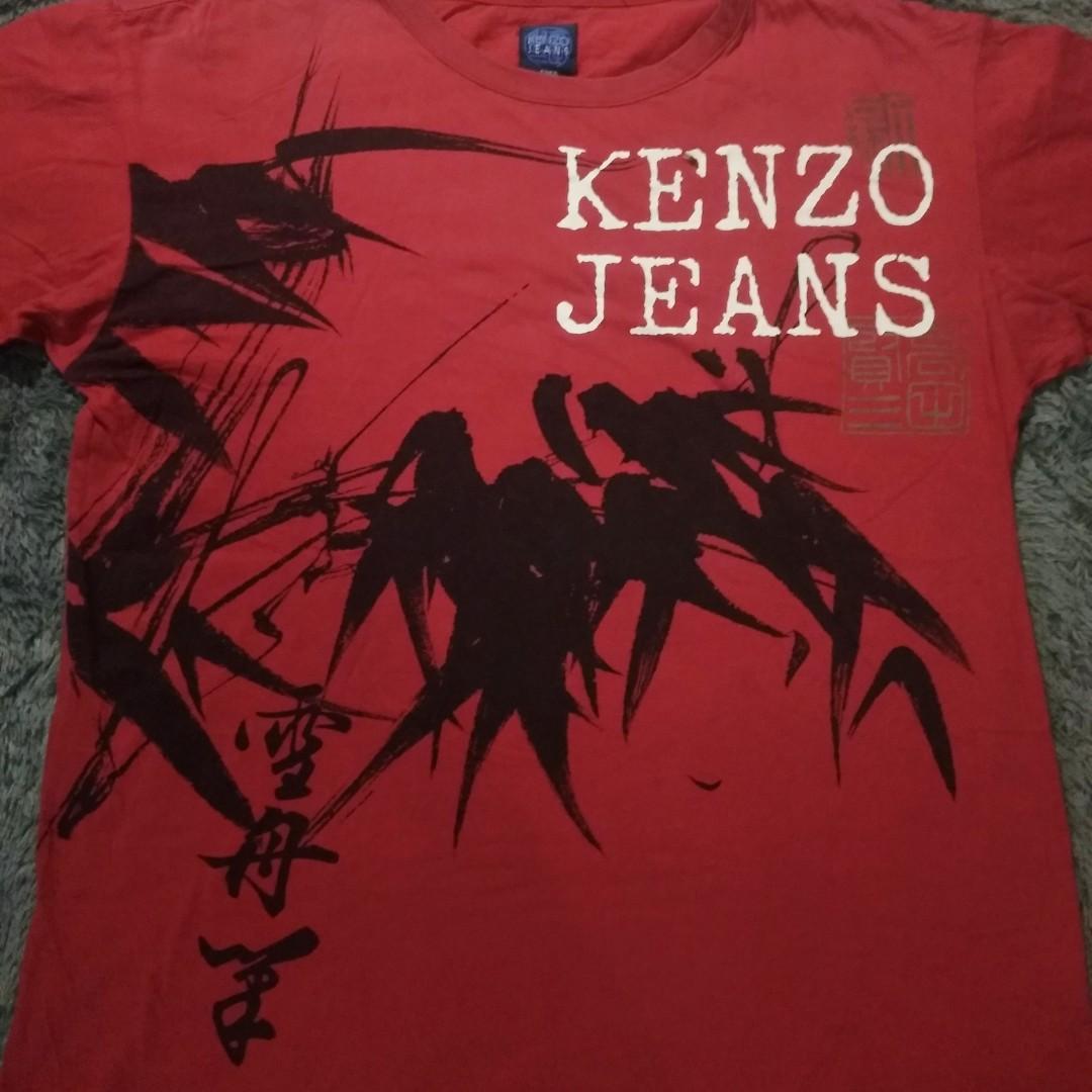 Kaos vintage kenzo jeans