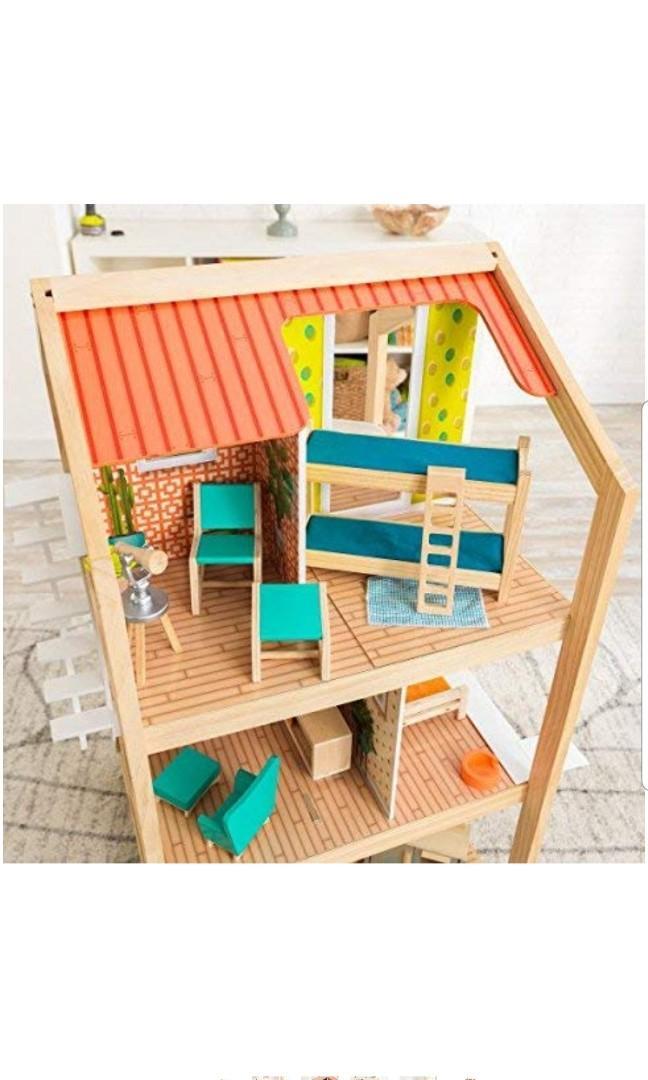 KidKraft So Stylish Large Giant Jumbo Mansion Wooden EZ EASY build Barbie Dollhouse Doll House