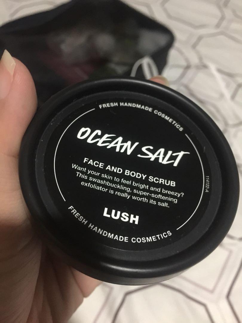 Lush scrub ocean salt 120gr