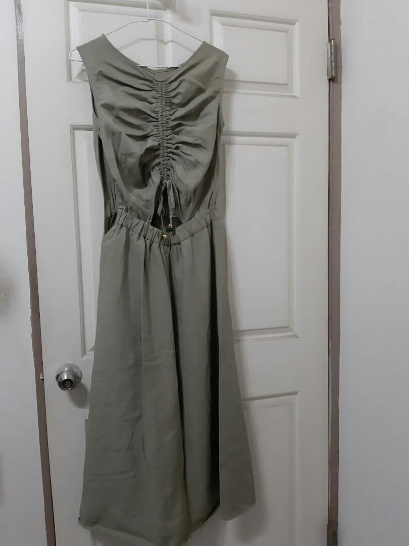 Majestic legon 綠色長洋裝 #9成新