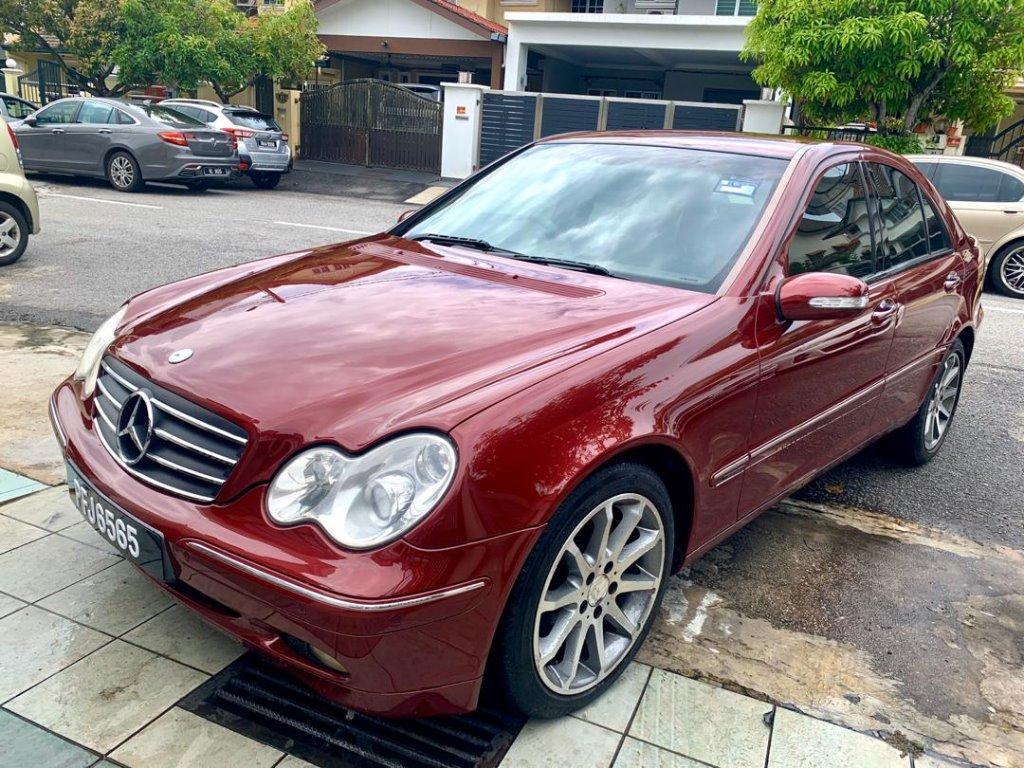 Mercedes Benz C200 1.8(A) KOMPRESSOR LIKE NEW 6565