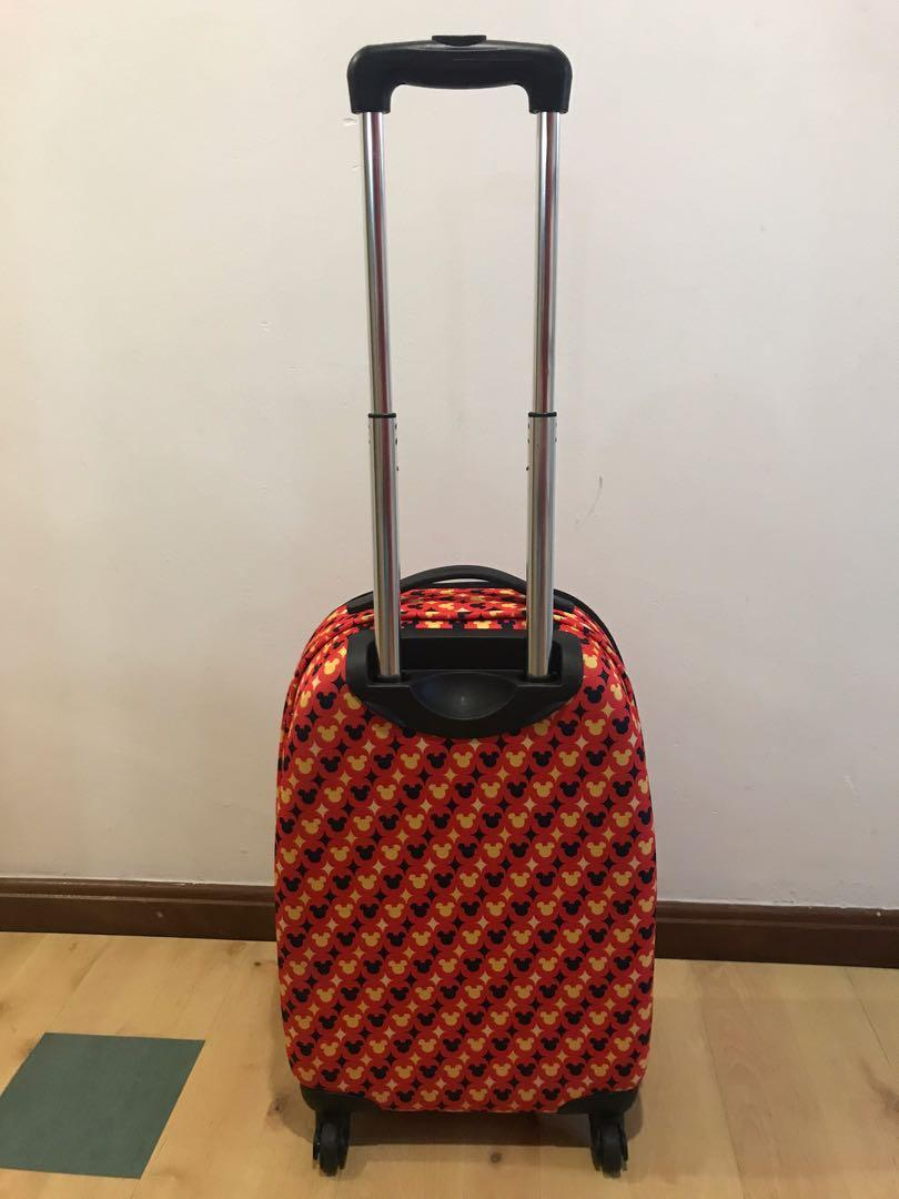 Mickey Mouse cabin luggage