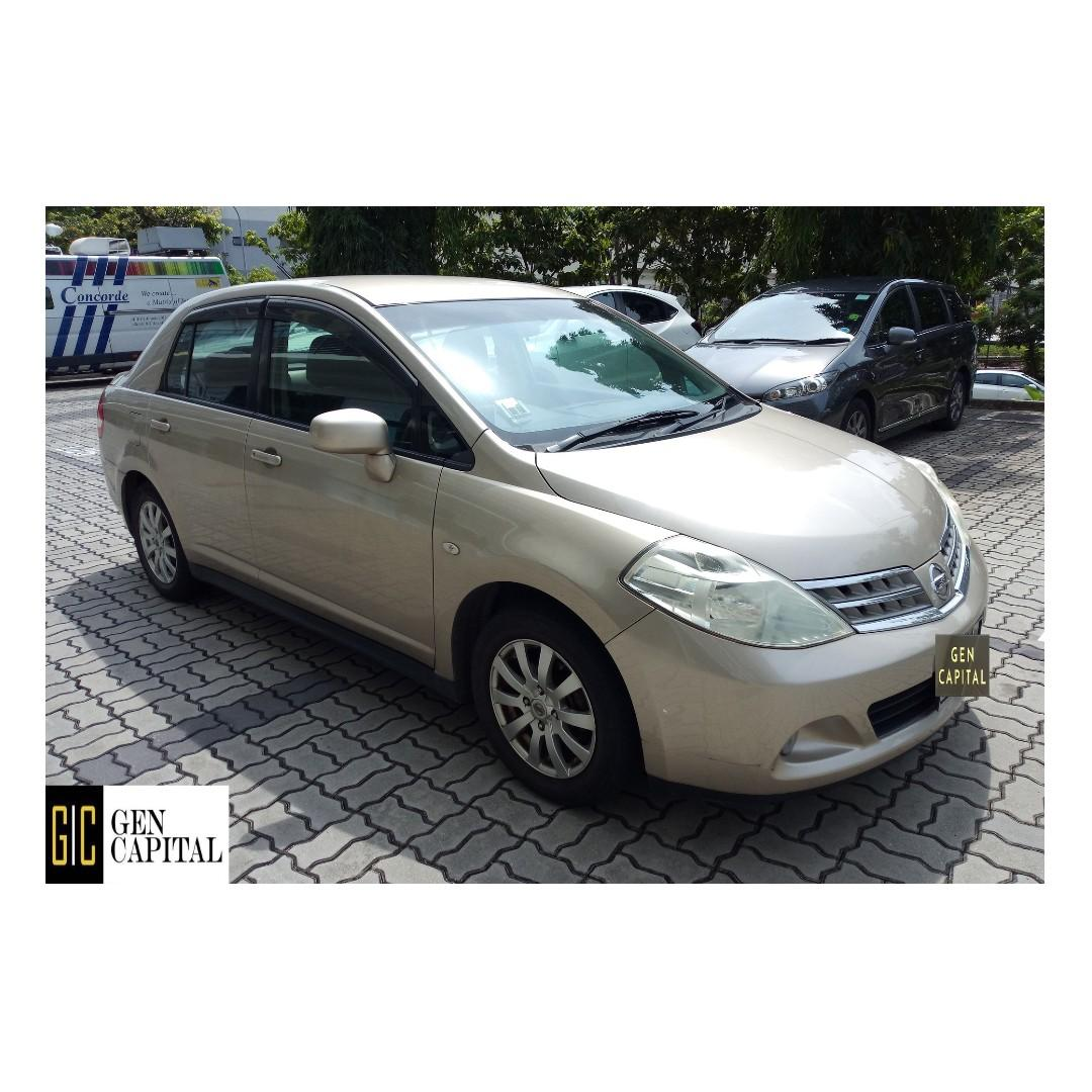 Nissan Latio - Lowest rental rates, Many ranges of car to choose from, with very reliable rates!