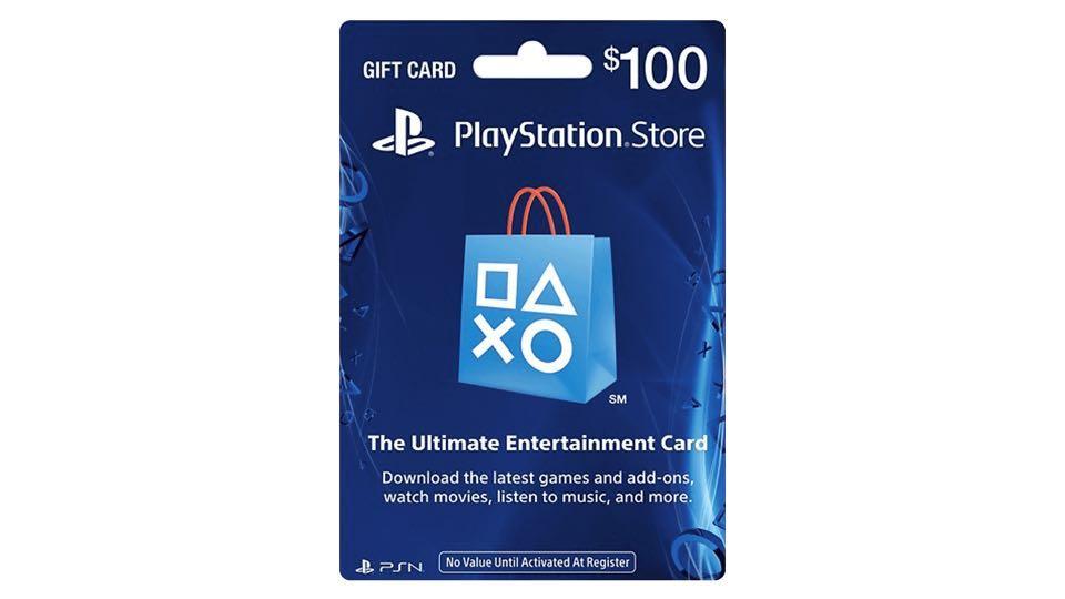 PlayStation Network Card PSN USD 100