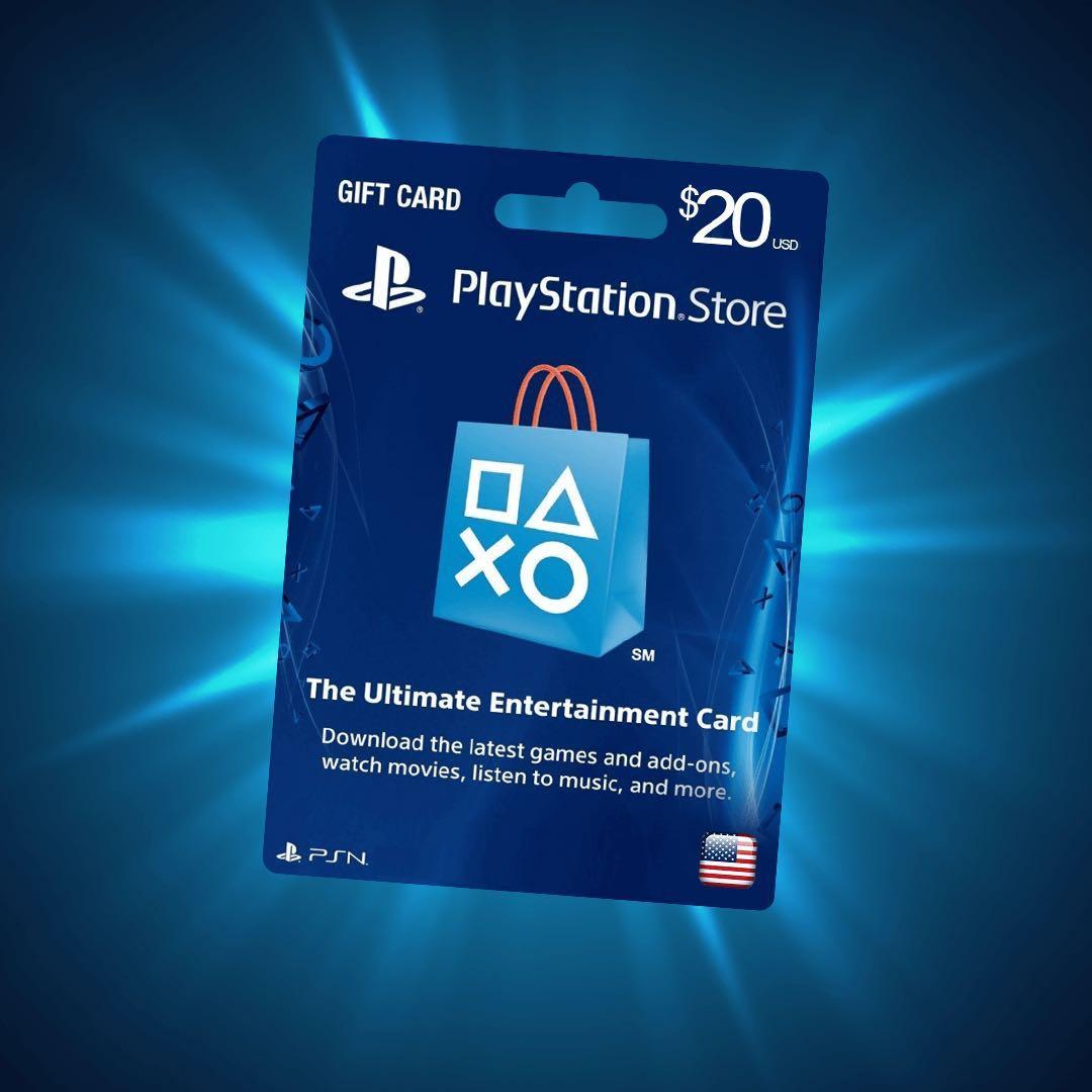 PlayStation Network Card PSN USD 20