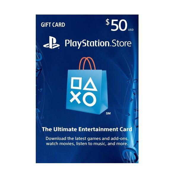 PlayStation Network Card PSN USD 50