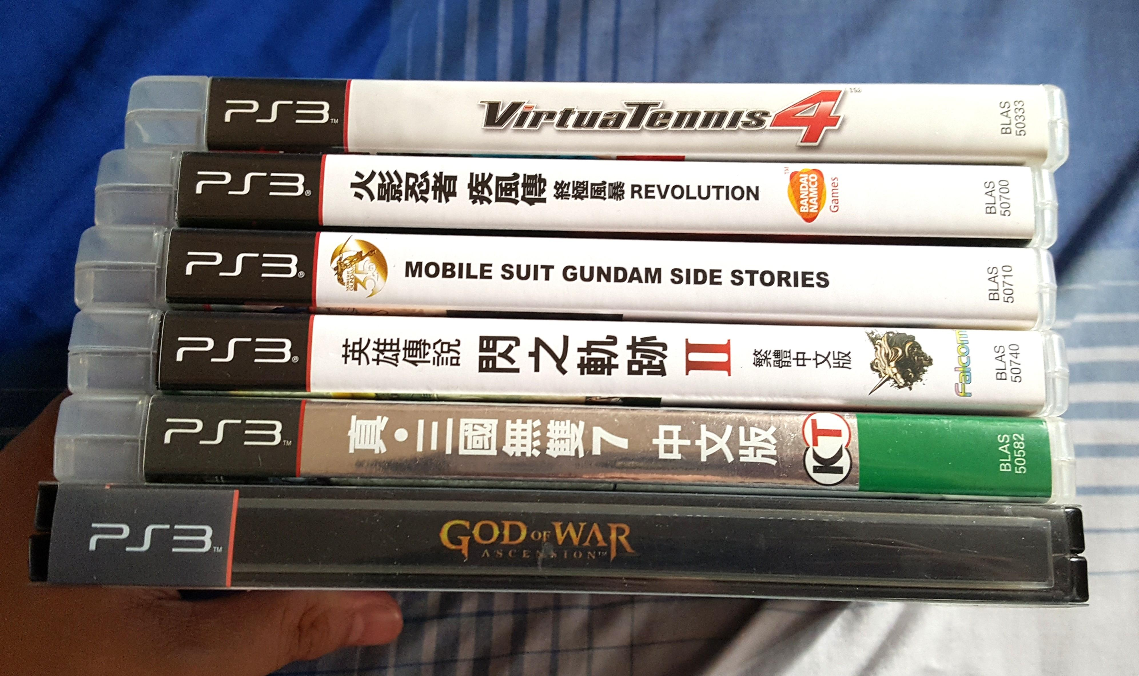 PS3 Games,$200 For All 6 Games!. Buy ONLY 1 Game $80!