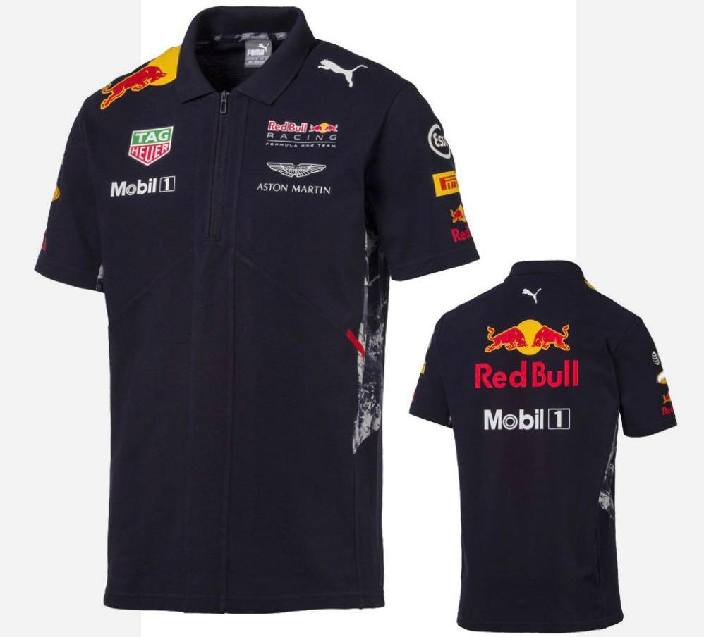 Red Bull Racing Formula One Team Polo Shirt Official Puma F1 ...