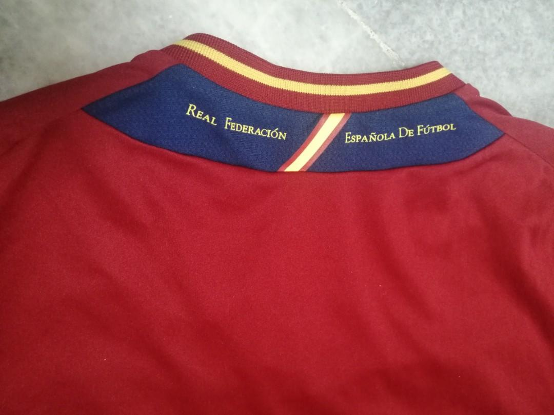 Spain home Jersey 12/13