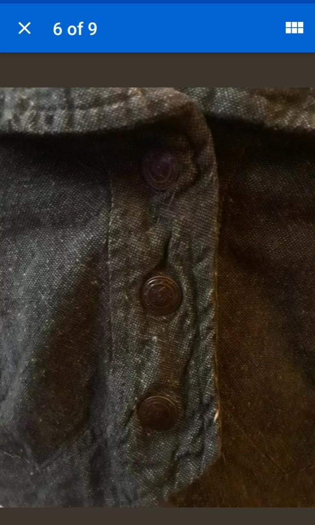 The Fairies Pyjamas fair trade cotton halter vest olive beige festival boho S XS