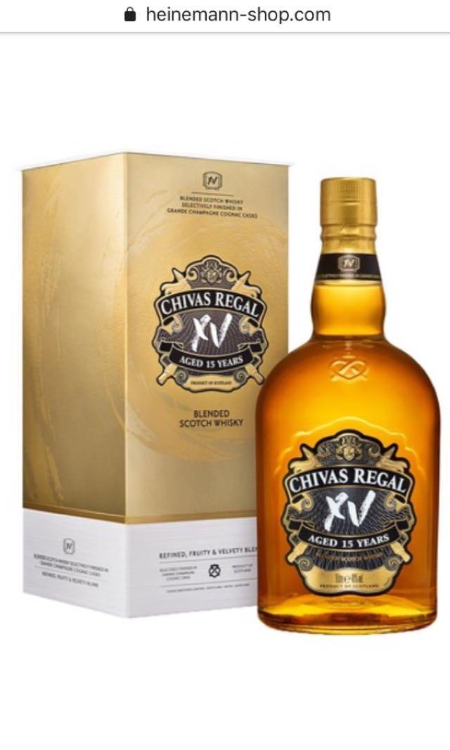 Whiskey / alcohol sale : 1 L glenlivet 1L chivas sealed