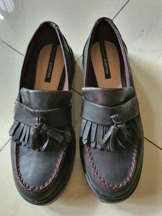 Pull&Bear Docmart Shoes in Burgundy