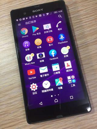 Sony Xperia Z (C6602) 2G/16G 5吋螢幕 四核心處理器 4G Lte