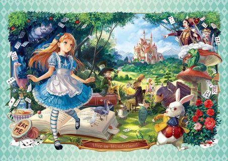 日本透明塑膠拼圖-愛麗絲夢遊仙境 216片