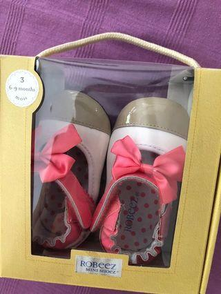 Baby girl Shoes less than 1 year old