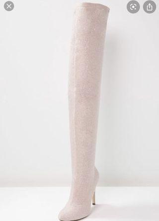 BN Sparkly Thigh Highs sz 8