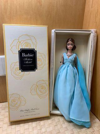 Barbie Silkstones Blue Chiffon Ball Gown - purchased RM379.90