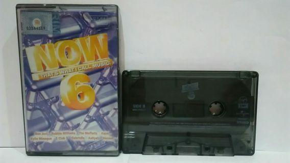 Kaset Now That's What I Call Music 6 (2000)