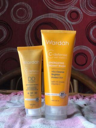 Wardah Creamy Wash & DD ceeam
