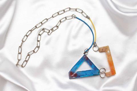 Marissa Pastels Colored Long Necklaces
