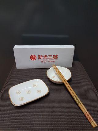 醬料碟 附竹筷