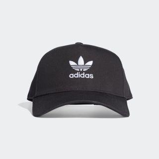 """ADICOLOR TRUCKER CAP"" Adidas Originals 全新 黑色 可調節 棒球帽 鴨舌帽 老帽 運動帽 球帽 帽子 ED8704"
