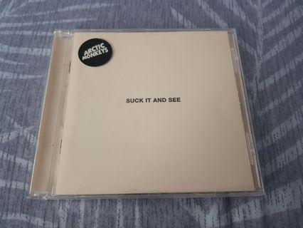 For Sale!! CD Arctic Monkeys Suck It And See EU Edition
